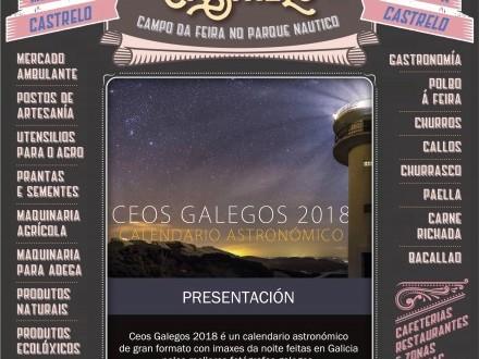 Feira de Castrelo do mes de outubro: Presentación do calendario astronómico Ceos Galegos 2018