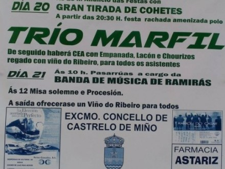 Festas en Astariz