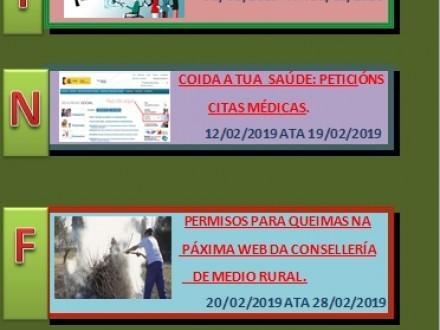 CURSOS PROGRAMADOS PARA O MES DE FEBREIRO