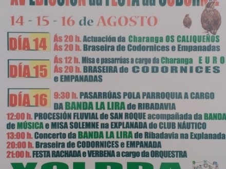 Festas en Cortiñas