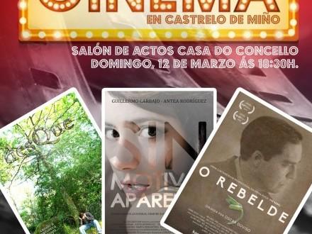 Castrelo de Miño trae para esta fin de semana tres curtametraxes de  Óscar Doviso