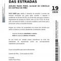 BANDO 19/2020: LIMPEZA EXTERIOR DAS ESTRADAS
