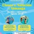 XIMAUGA E CLASES DE NATACIÓN