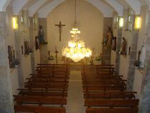 Interior de la Iglesia de Barral