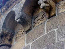 Detalle del ábside de la Iglesia de Santa María