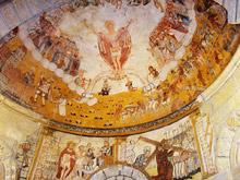 Pinturas murales de la Iglesia de Santa María