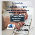 Cursos de informática na aula INFO para o mes de novembro