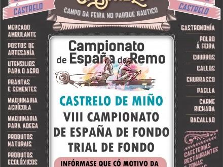 Feira de Castrelo: VII Campionato de España de Fondo Trial de Inverno