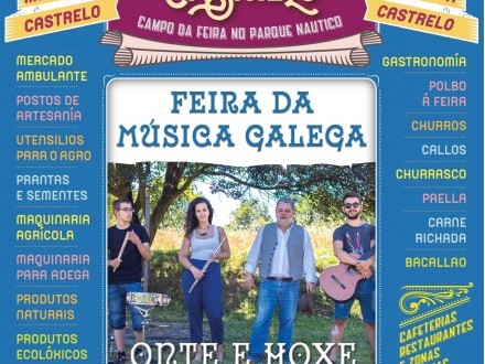 Feira de Castrelo do mes de agosto: Feira da música galega