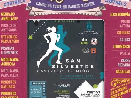 Feira de Castrelo do mes de decembro: XIX San Silvestre