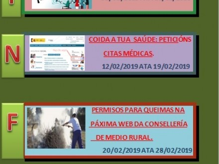CURSOS PROGRAMADOS PAR EL MES DE FEBRERO
