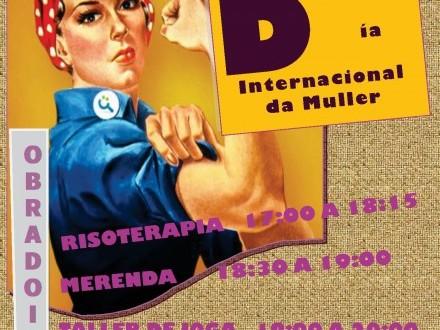 O Concello celebra o 8 de marzo, Día Internacional das Mulleres, unha serie de obradoiros