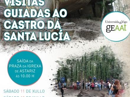 VISITAS GUIADAS AO CASTRO DA SANTA LUCÍA