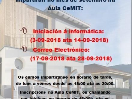 Apertura aula CeMIT