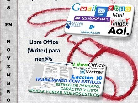 Cursos de informática na aula Info para o mes de novembro en Castrelo de Miño