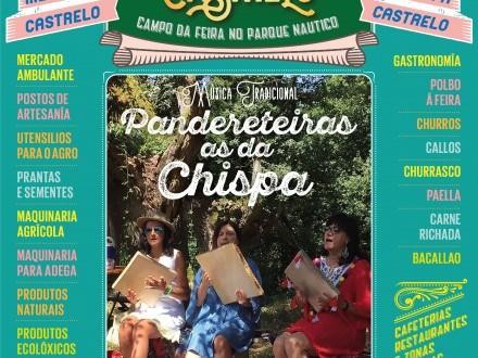 O vindeiro 25 de agosto de 2019 feira en Castrelo de Miño