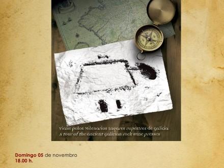 Presentación do libro ´As pedras que facían viño. Viaxe polos milenarios lagares rupestres de Galicia´