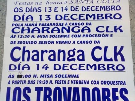 Festas en honra a Santa Lucía 2019