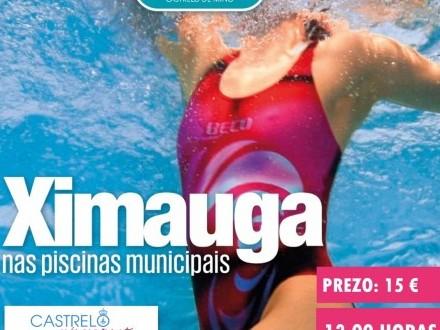 O 1 de agosto comezarán as actividades de Ximauga na piscina municipal