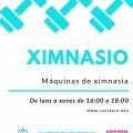 Ximnasio municipal aberto en Castrelo de Miño