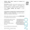 BANDO 19/2020: Cita previa para xestións municipais