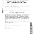 NOTA INFORMATIVA: 7 casos de COVID confirmados