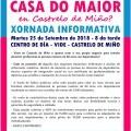 Xornada Informativa: Queres abrir unha casa do maior en Castrelo de Miño?