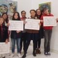Tres alumnas do colexio de Castrelo gañan no concurso do Estatuto de Galicia da Deputación de Ourense