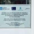 Castrelo de Miño modifica accesos e instalacións para mellorar a accesibilidade