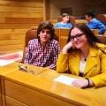 Representantes do consello da infancia e da adolescencia de Castrelo de Miño asistiron ao Parlamento Galego