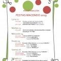 PROGRAMACIÓN FESTA EN MACENDO 2019 (CASTRELO DE MIÑO)