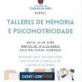TALLERES DE MEMORIA E PSICOMOTRICIDADE