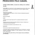 Bando 2/2020: INFORMACIÓN SOBRE AXUDAS PARA PALIAR DANOS PRODUCIDOS POLO XABARIL